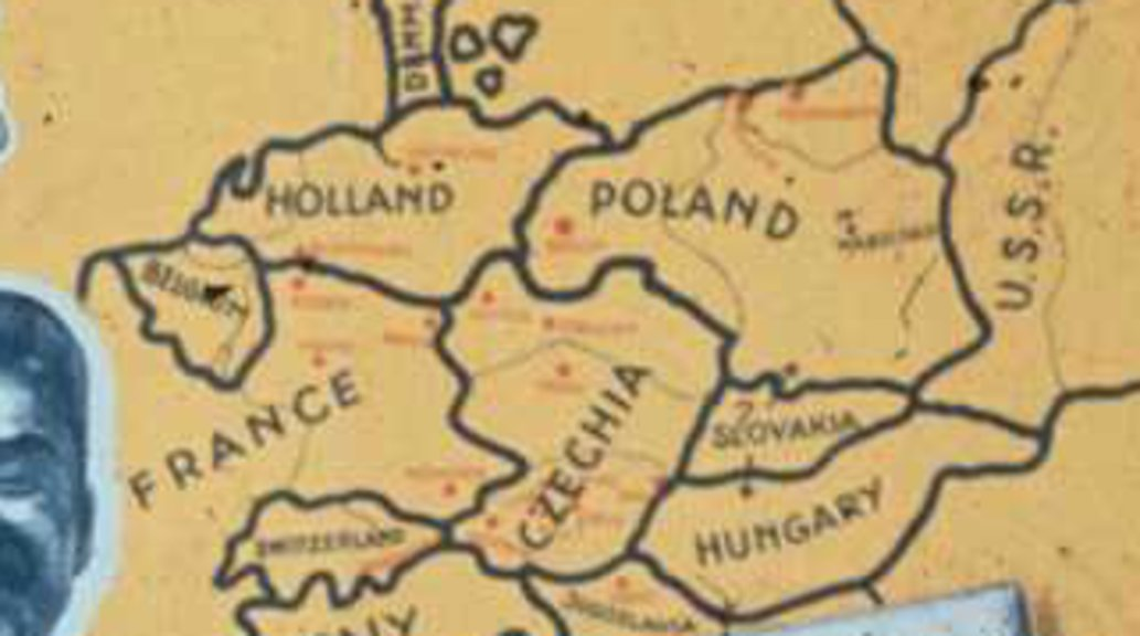 im on a bit of a roll here as far as strange world war ii maps are concerned heres another one again from the german side found at this page of