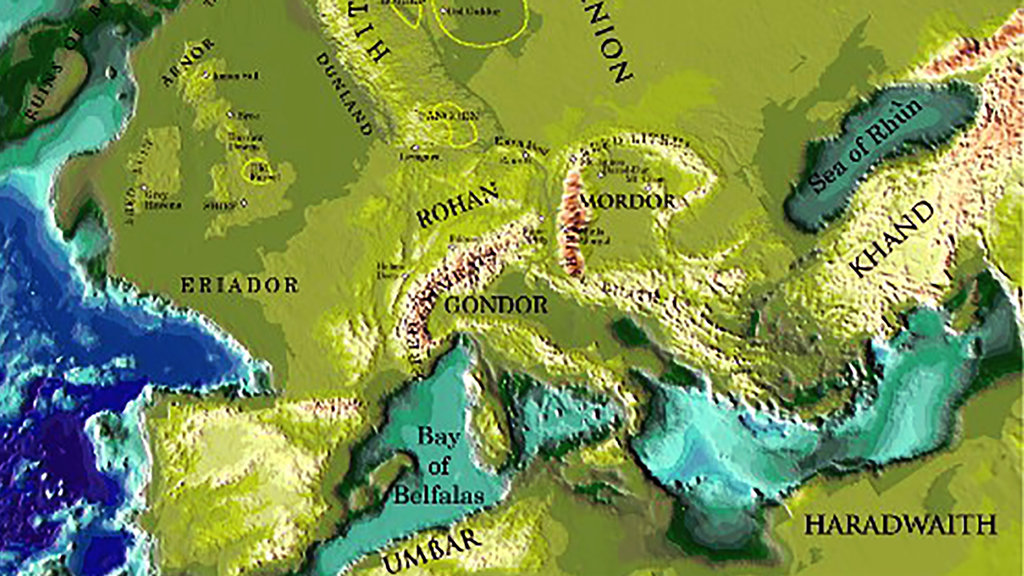 JRR Tolkiens Lord of the Rings Real Places May Have