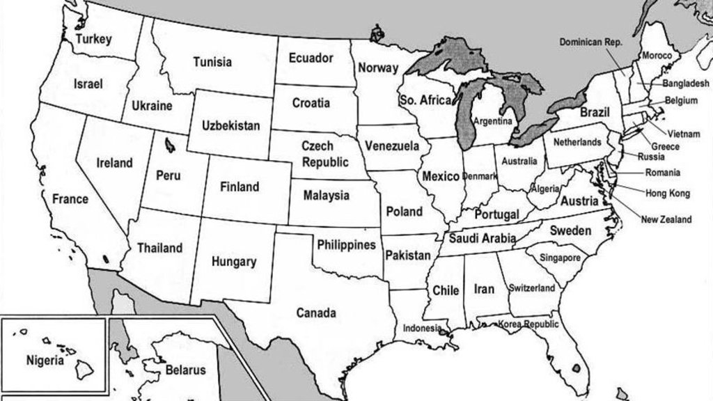 US States Renamed For Countries With Similar GDPs Big Think - Us map with countries