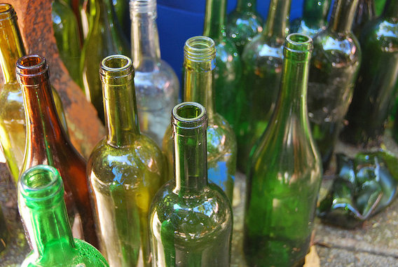Coloredglassbottles