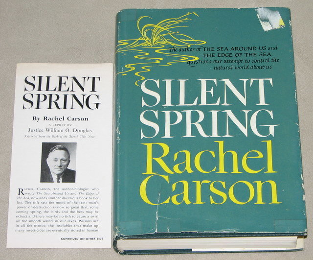 rachel carson silent spring review Silent spring by: rachel carson review: this book was focused on the concern of pesticides that industries, along with us as individuals, have been dumping (both knowingly and unknowingly) into water.
