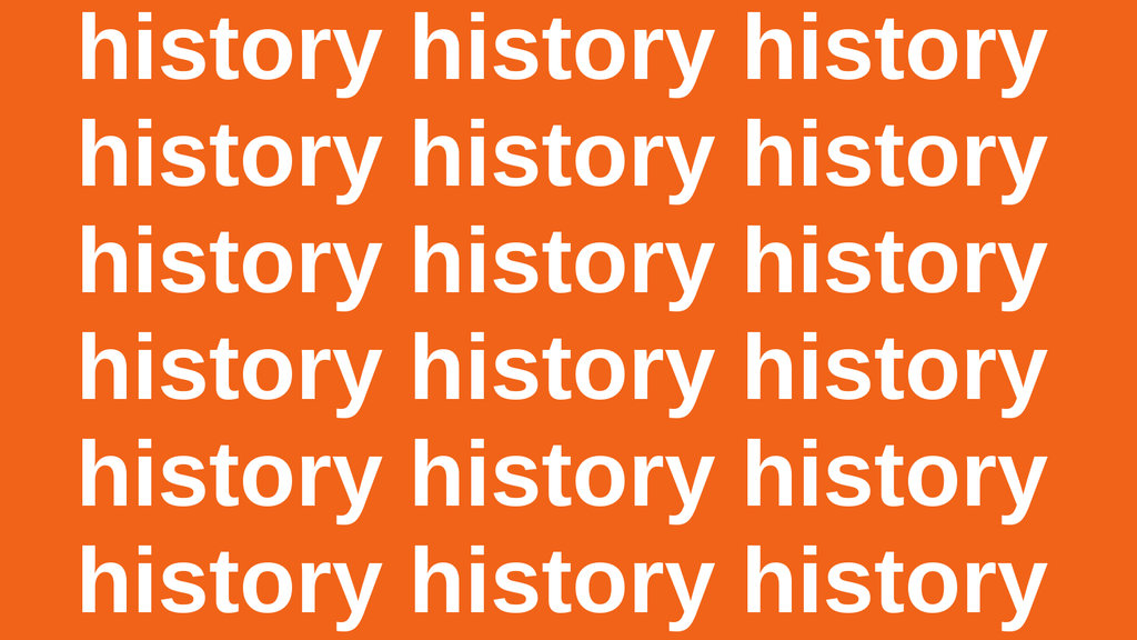 Those Who Do Not Learn History Are Doomed To Repeat It Really