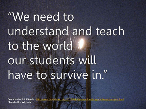 Great Teachers Learn With Their Students