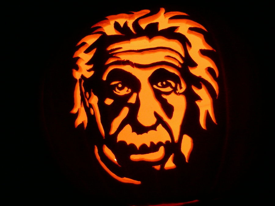 Einstein_pumpkin_by_kenklinker