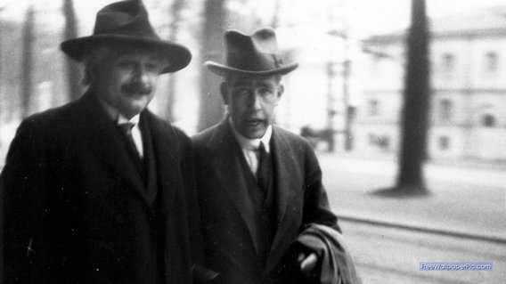 Niels-bohr-and-albert-einstein-1930