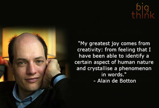 Alain de Botton on Creativity