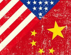 China_america_flags
