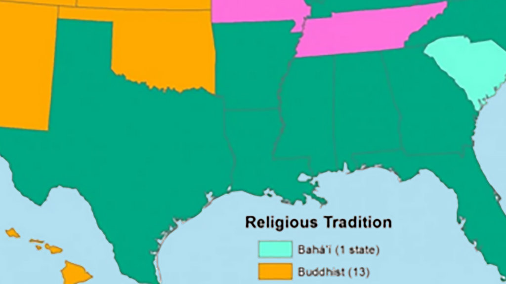 Without Christianity America Is Buddhist Muslim And Jewish Big Think - Three biggest religions