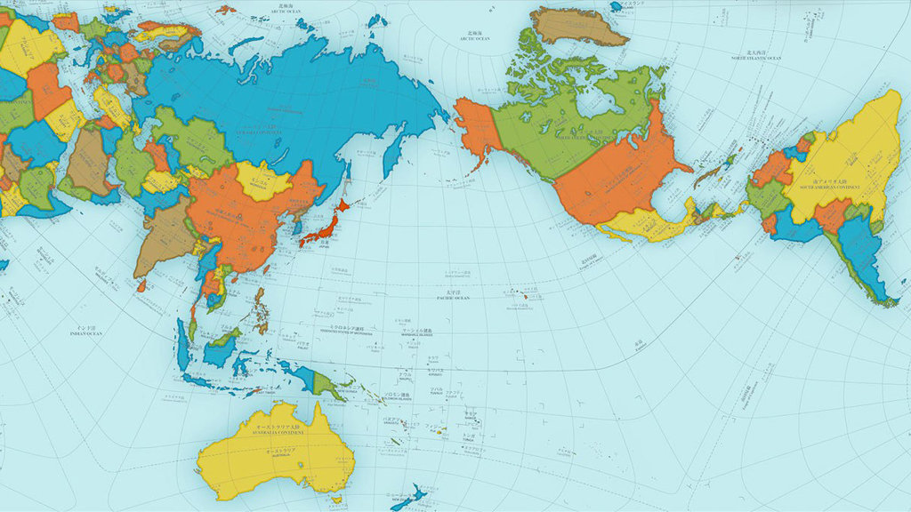 Award Winning Map Shows A More Accurate World Big Think - Map of tghe world