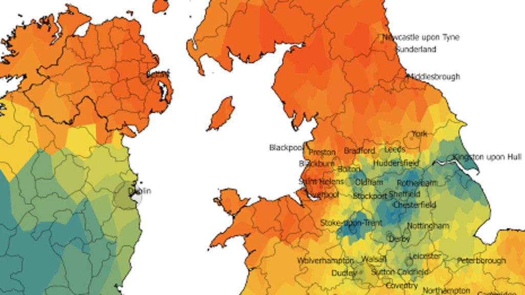 The Great Scone Map Of The UK And Ireland Big Think - Pronunciation of our us map