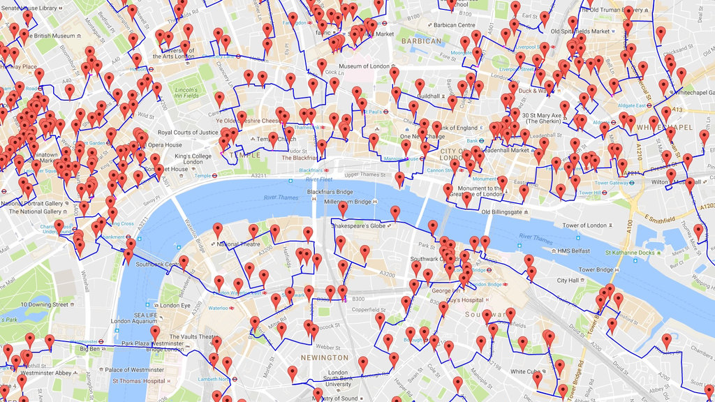 the shortest route between all the pubs in the uk big think