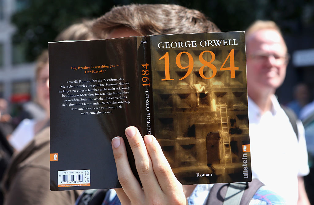 years after Orwell wrote      and was destroyed by the book  a
