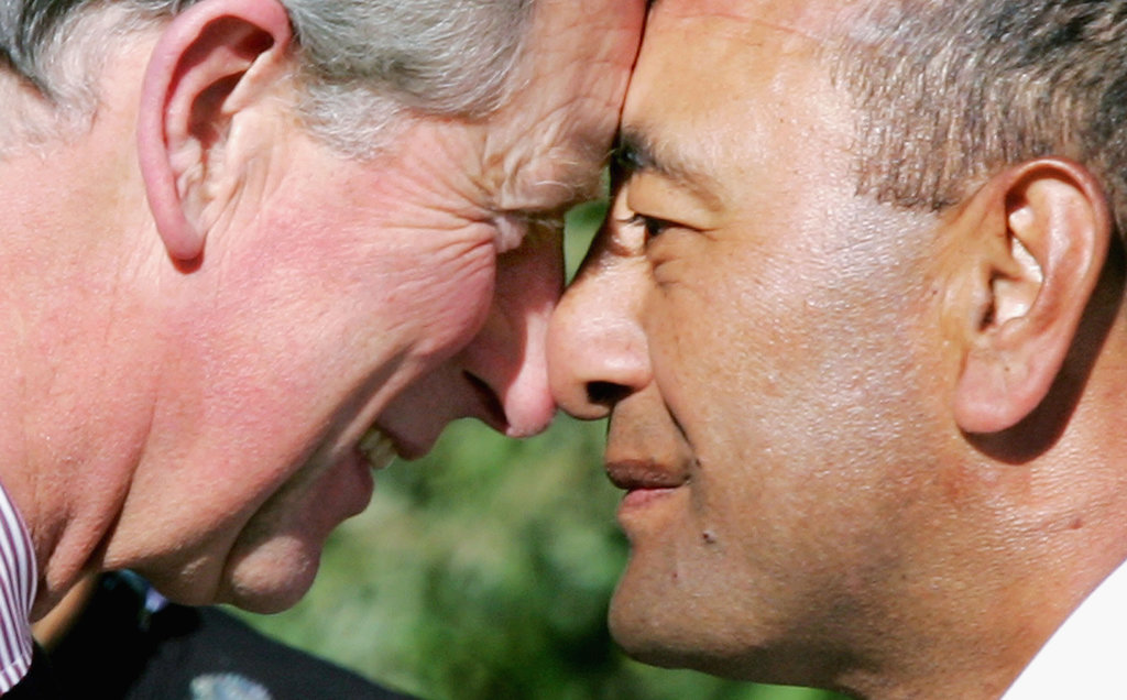 Why do your nostrils look like that its a clue about your narrow vs wide nostrils on display as britains prince charles performs a traditional maori hongi a greeting where two people press noses m4hsunfo