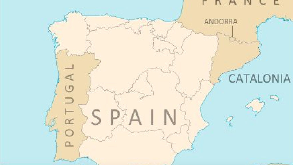 What An Independent Catalonia Would Do To The Map Of Spain Big Think - Slovenia map hd