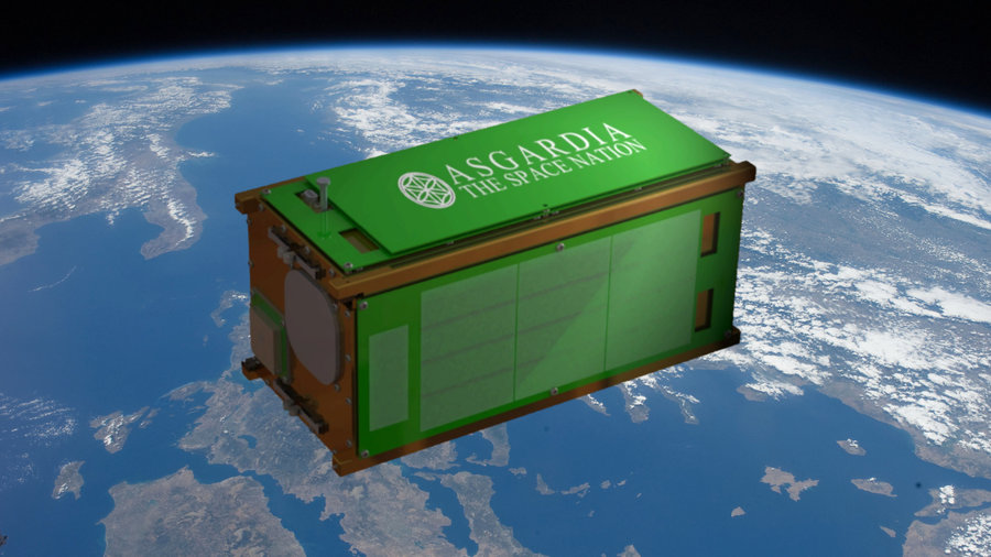 Planned Space Kingdom Asgardia Launches Its First Satellite