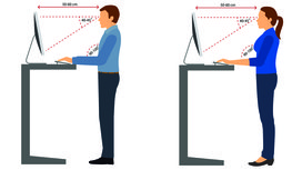 Standing-desk-diagrams