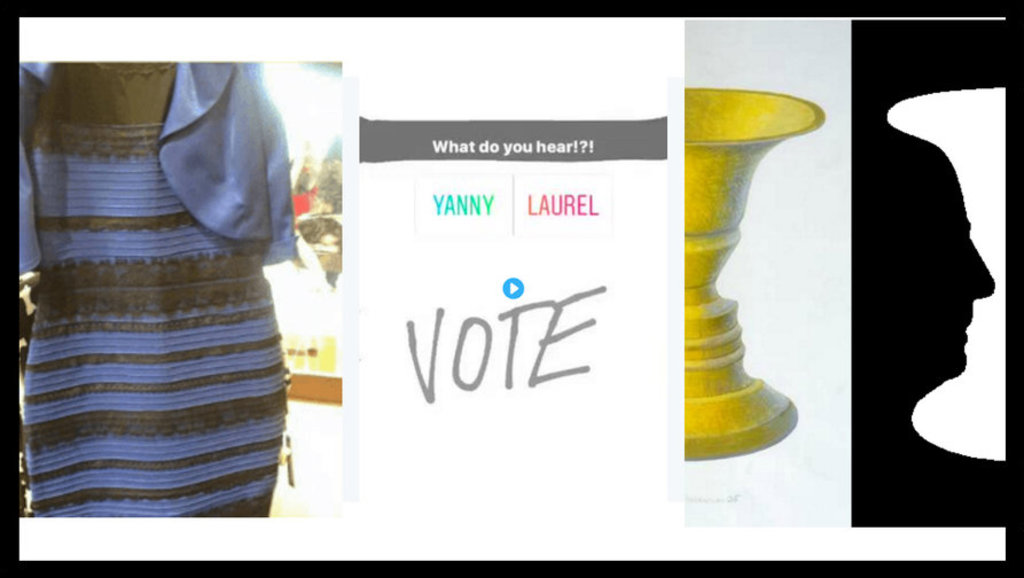 The Blue Gold Dress The Yanny Laurel Illusion And Rubins Vase