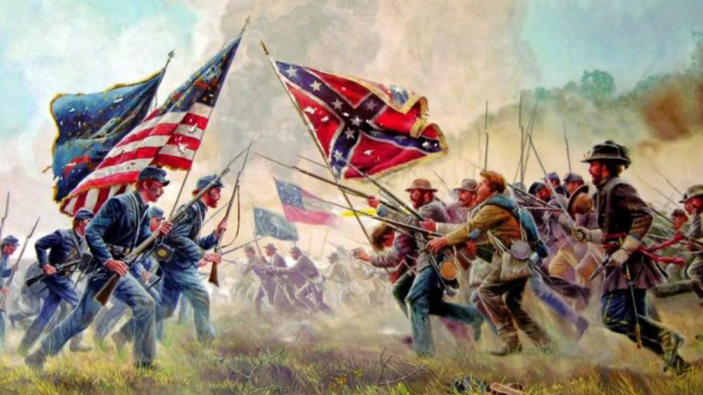 Image result for the american civil war began in april 1861 when