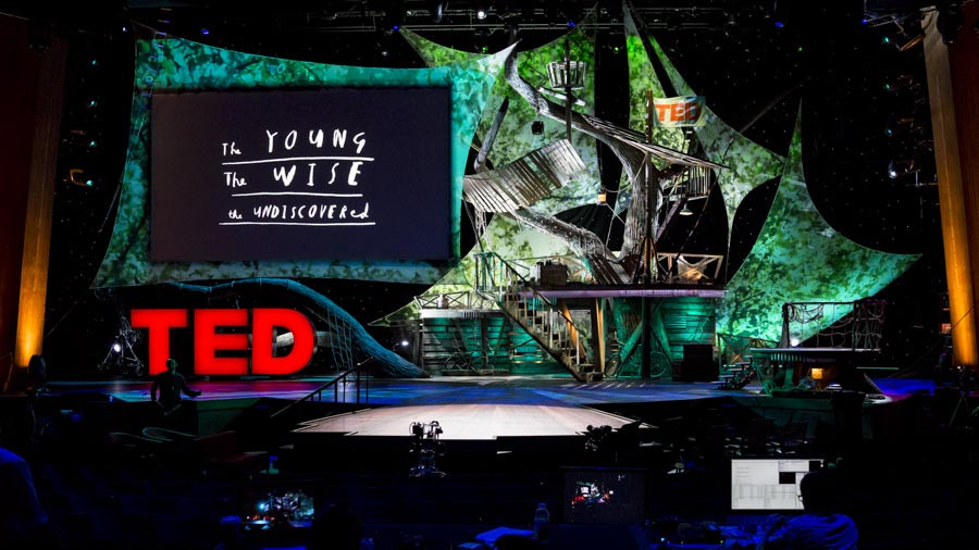 The TED2013 stage