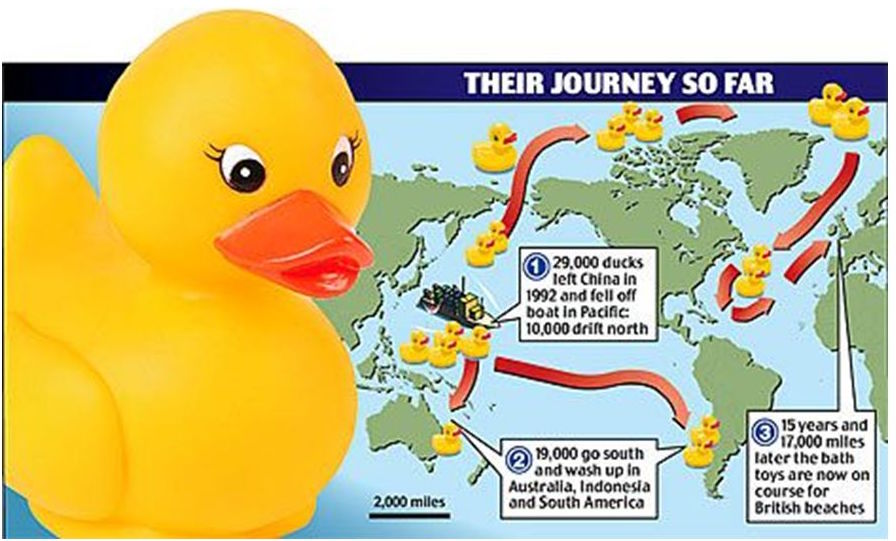 The Plastic Duck Armada And Its Accidental World Journey Big Think