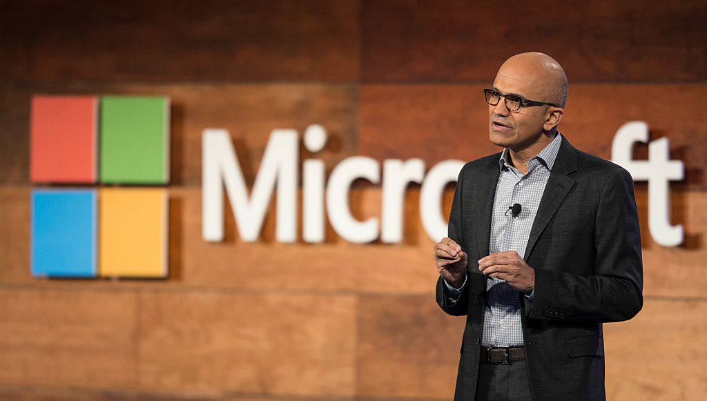 Satya Nadella (Credit: Getty Images)