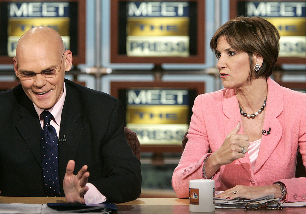 James Carville and Mary Matalin (Credit: Getty Images)