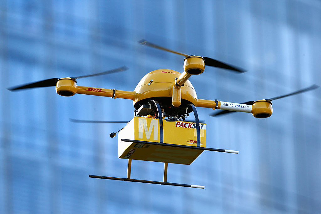 Deutsche Post Tests Deliveries With Drones (Credit: Getty Images)