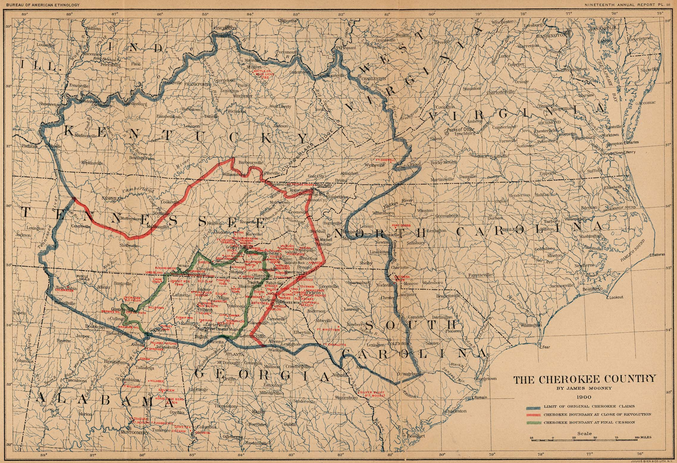 Watch the Old Cherokee Country Vanish off the Map Big Think