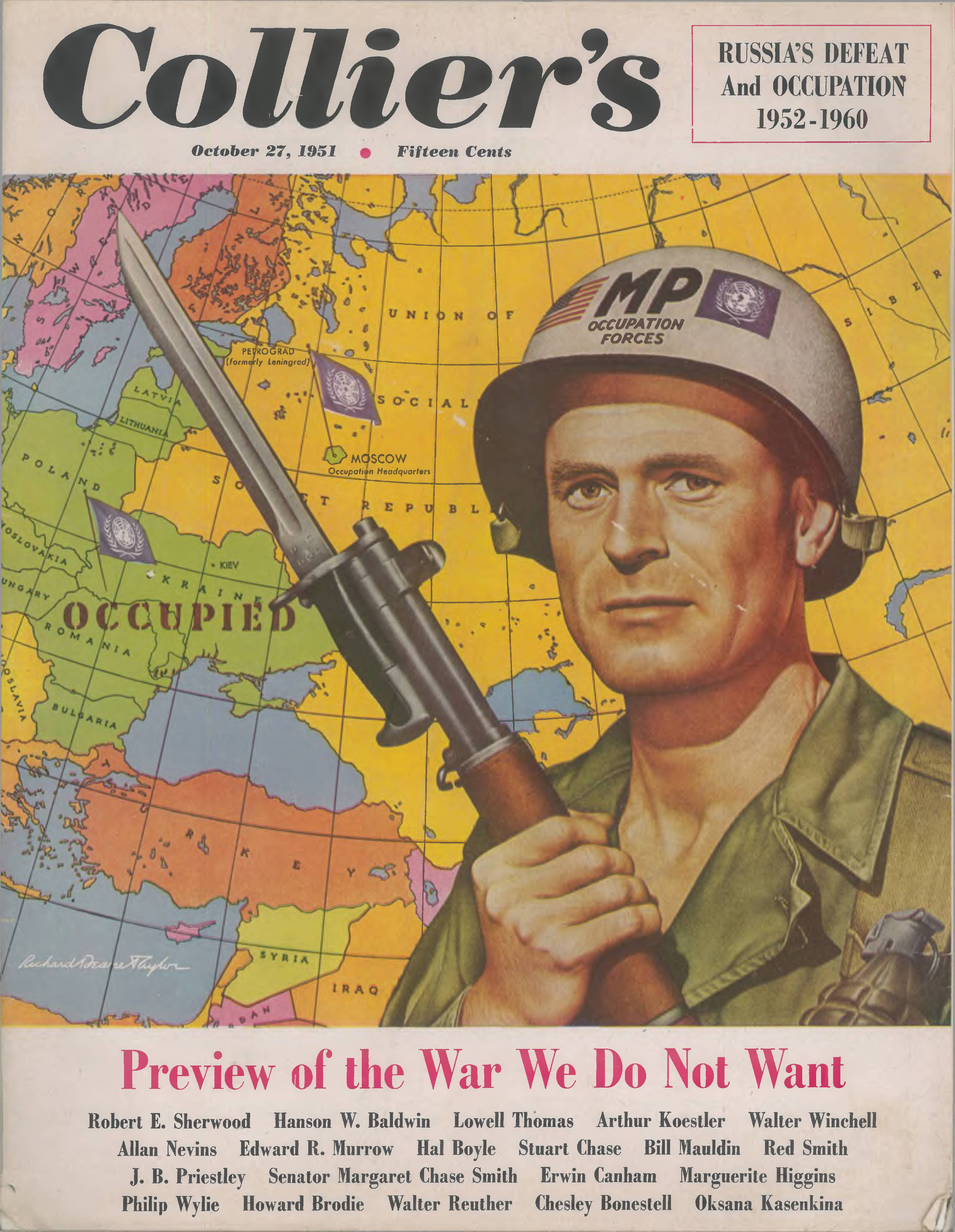 The WhatIf War of 1952 America Occupies the USSR  Big Think