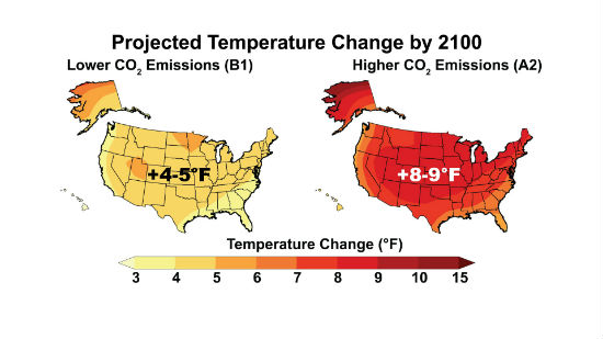 graphics courtesy National Climate Assessment