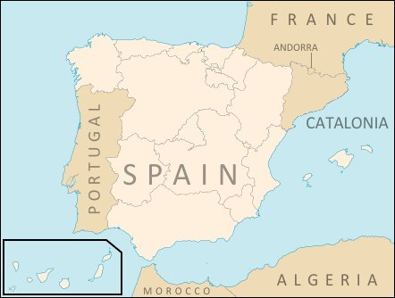 Map Of Spain With States.What An Independent Catalonia Would Do To The Map Of Spain