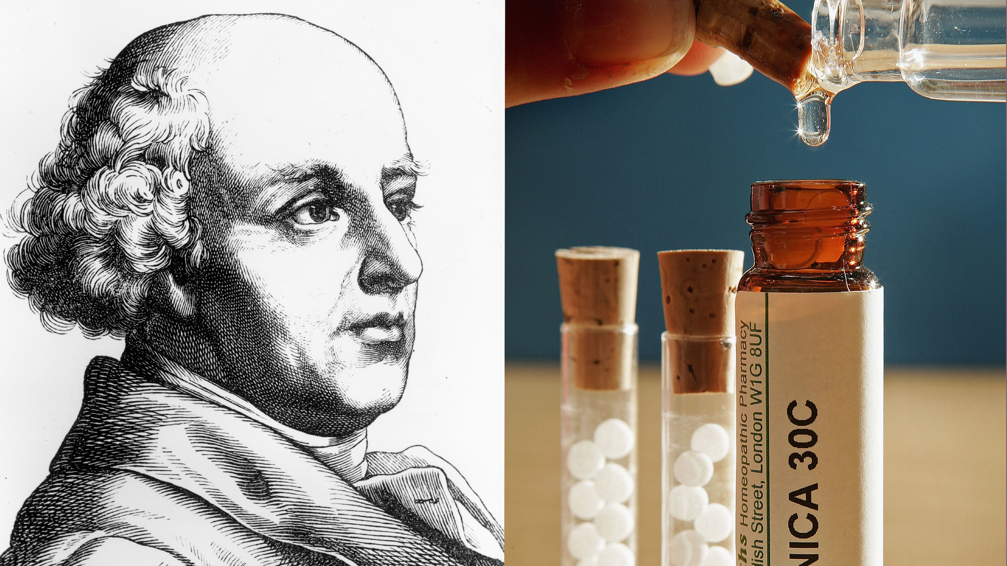 Samuel Hahnemann father of homeopathy