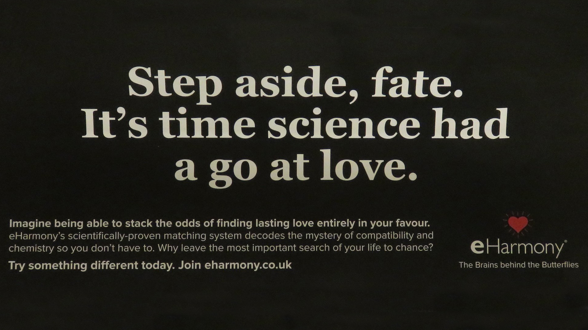 banned eharmony ad citing science