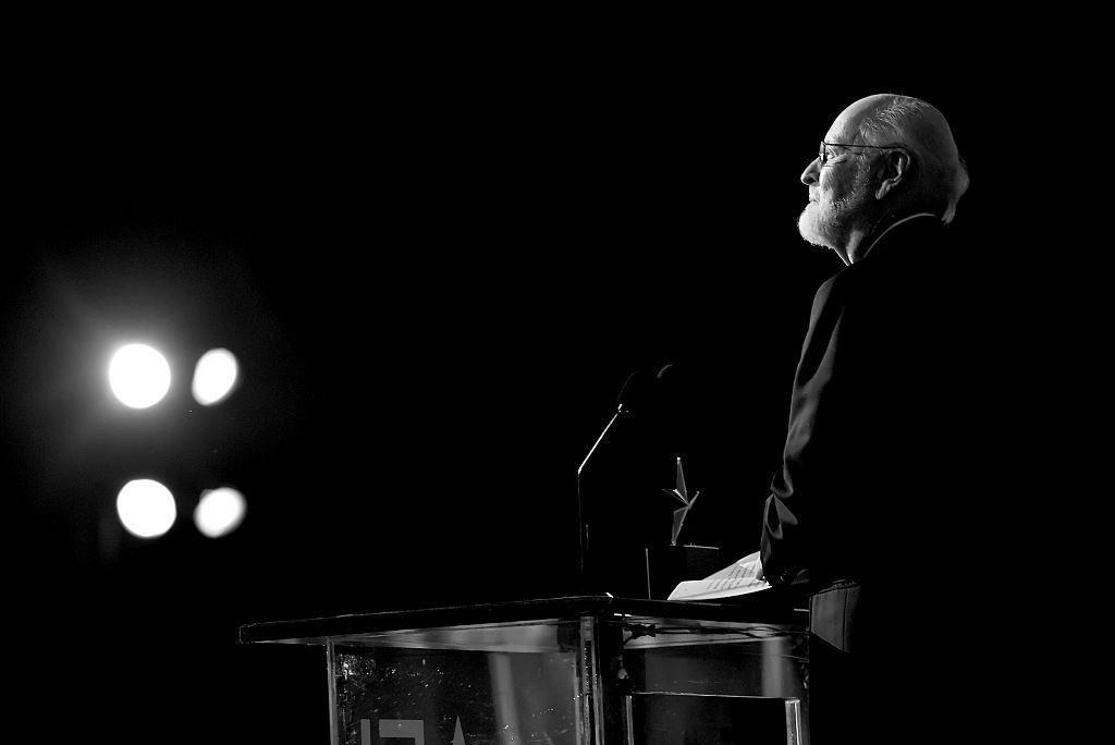 AFI Life Achievement Award recipient John Williams speaks onstage during American Film Institute's 44th Life Achievement Award Gala Tribute show to John Williams at Dolby Theatre on June 9, 2016 in Hollywood, California. 26148_002 (Photo by Mike Windle/Getty Images for Turner)