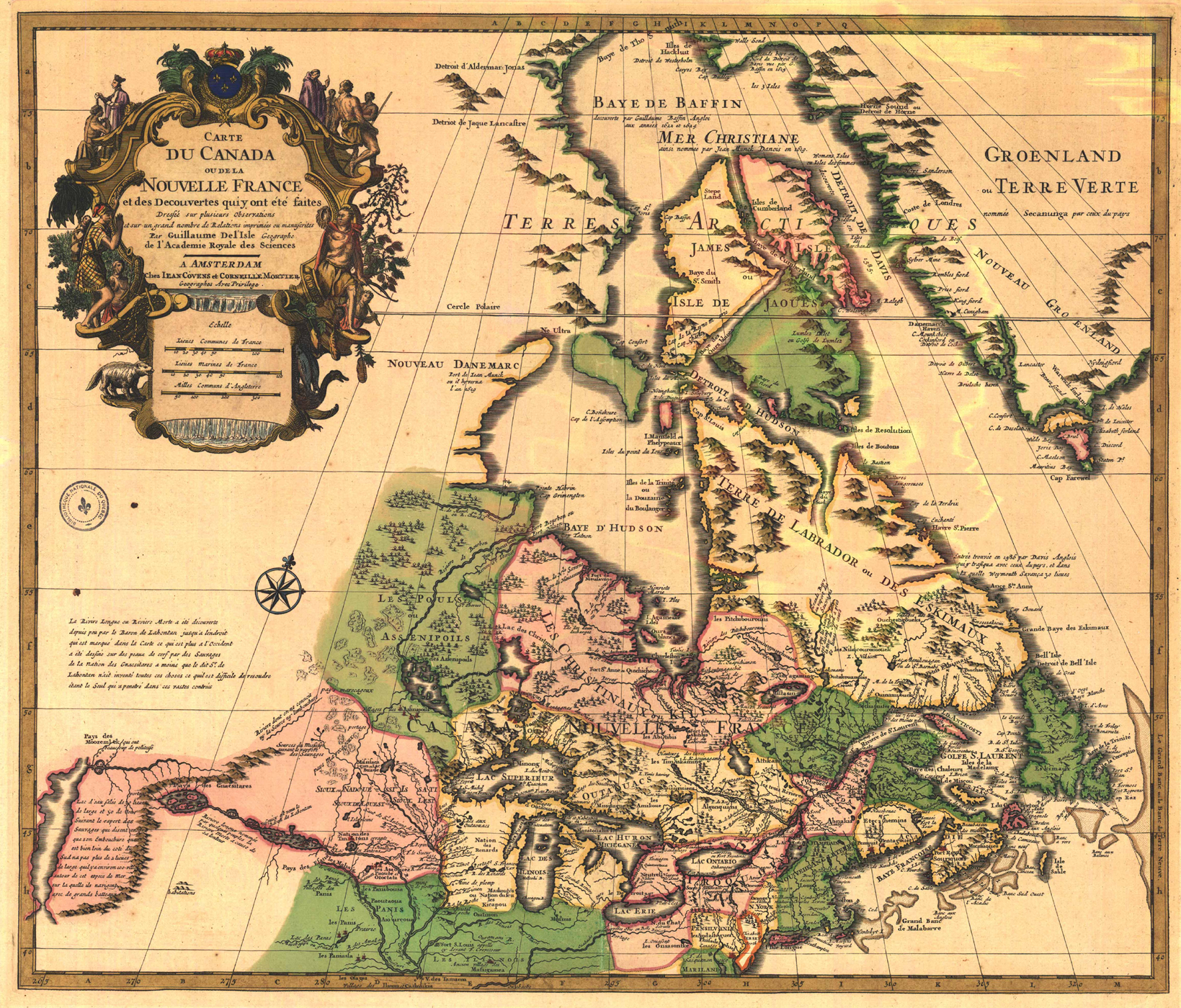 Arctic Monkeying Contrasting Visions of Canadas Northeast – Map De Canada