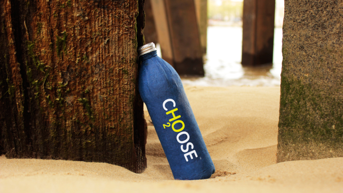 Choose bottle, a biodegradable alternative to plastic