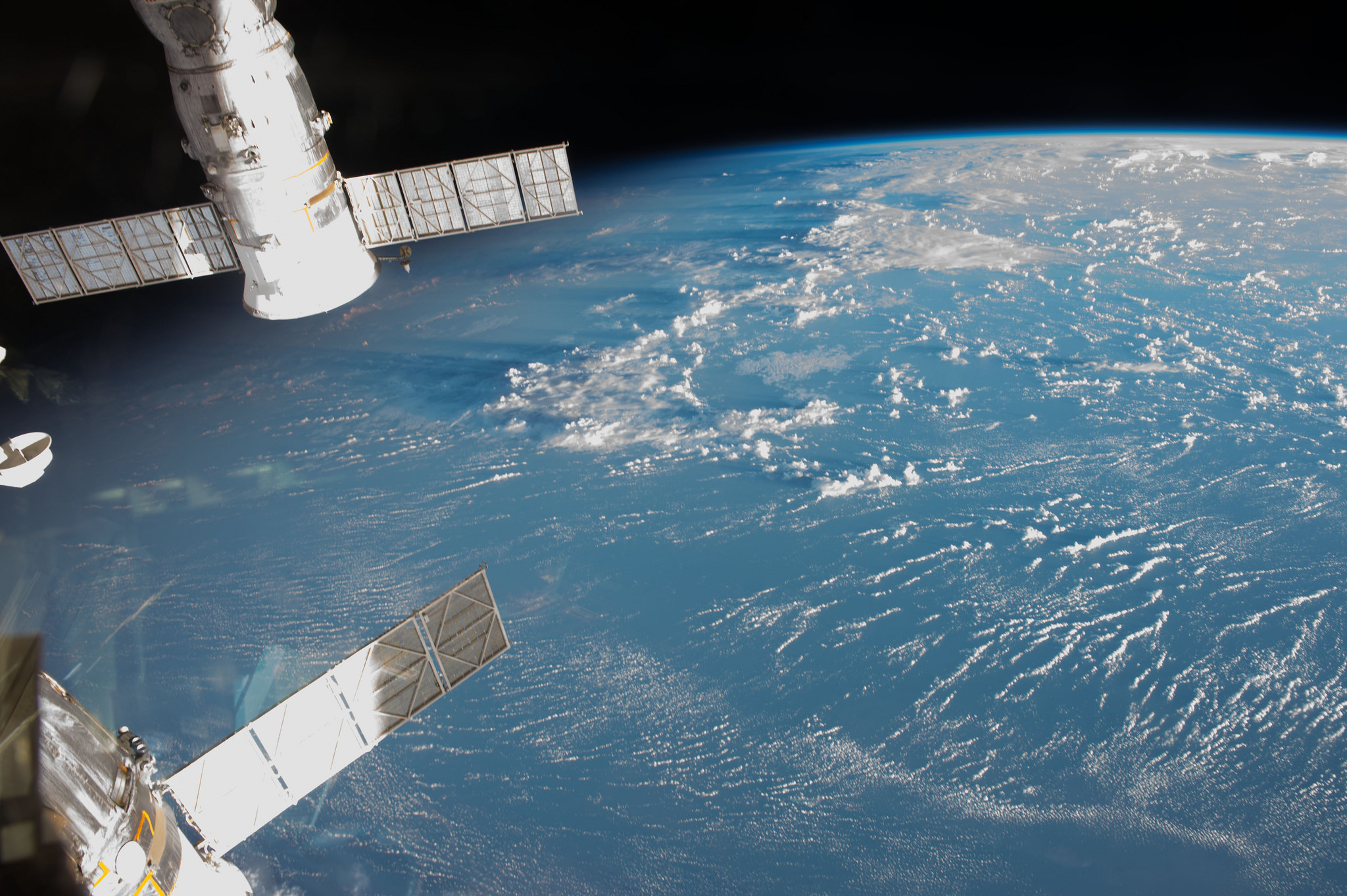 overview from ISS